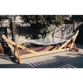 Woodworking Project Paper Plan to Build Hammock Frame, Plan No. 868