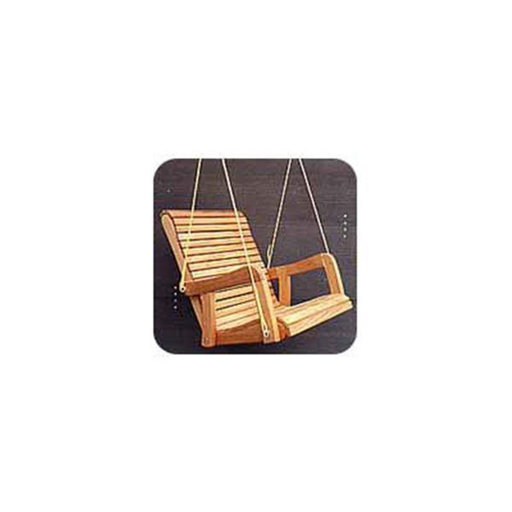 View a Larger Image of Woodworking Project Paper Plan to Build Hanging Chair