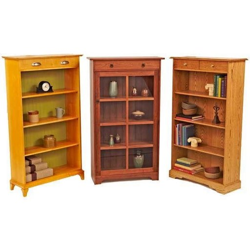 View a Larger Image of Woodworking Project Paper Plan to Build Have-It-Your-Way Bookcases