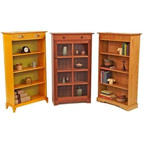 Woodworking Project Paper Plan to Build Have-It-Your-Way Bookcases