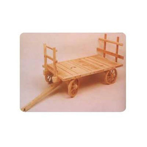 View a Larger Image of Woodworking Project Paper Plan to Build Hay Wagon