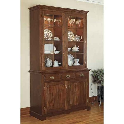 View a Larger Image of Woodworking Project Paper Plan to Build Heirloom China Cabinet