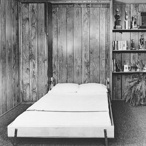 Woodworking Project Paper Plan to Build Hideaway Bed, Plan No. 707