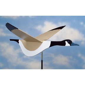 Woodworking Project Paper Plan to Build High-Flying Goose Weather Vane