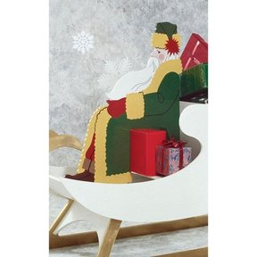 Woodworking Project Paper Plan to Build High-Styled Saint Nick