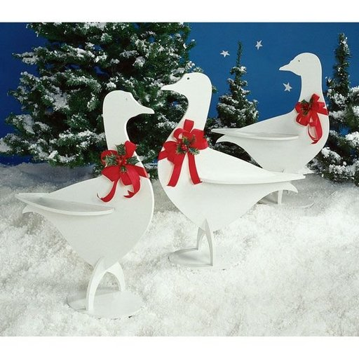 View a Larger Image of Woodworking Project Paper Plan to Build Holiday Honkers