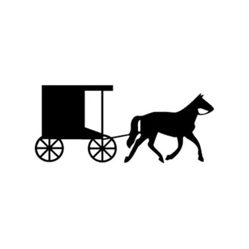 View a Larger Image of Woodworking Project Paper Plan to Build Horse and Buggy Shadow Pattern