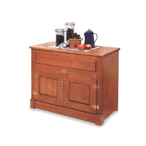 View a Larger Image of Woodworking Project Paper Plan to Build Ice Chest