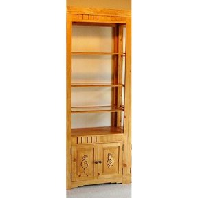 Woodworking Project Paper Plan to Build Indian Pueblo Bookcase