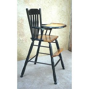 Woodworking Project Paper Plan to Build Kaliah's Highchair, AFD229