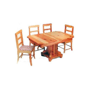 Woodworking Project Paper Plan to Build Kids' Extension Table with Chair