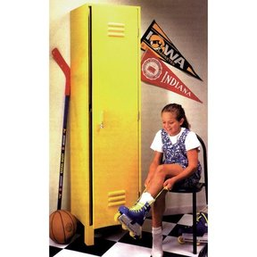 Woodworking Project Paper Plan to Build Kids' Sport Locker
