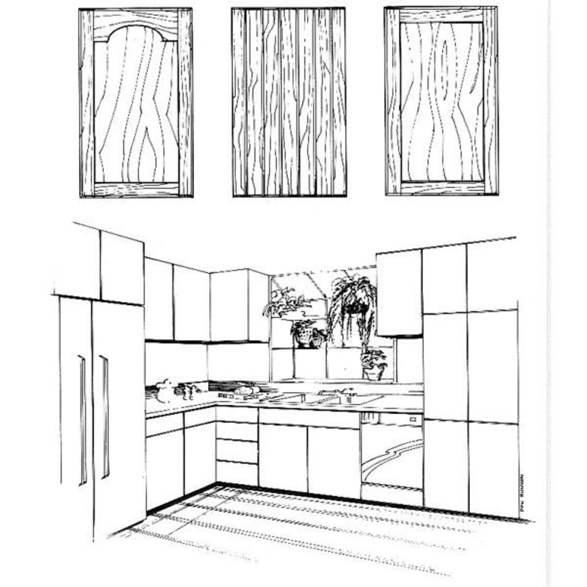 Kitchen Cabinet Plans Woodworking: Woodworking Project Paper Plan To Build Kitchen