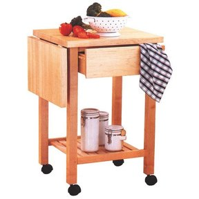 Woodworking Project Paper Plan to Build Kitchen Cart