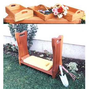 Woodworking Project Paper Plan to Build Kneeling Bench