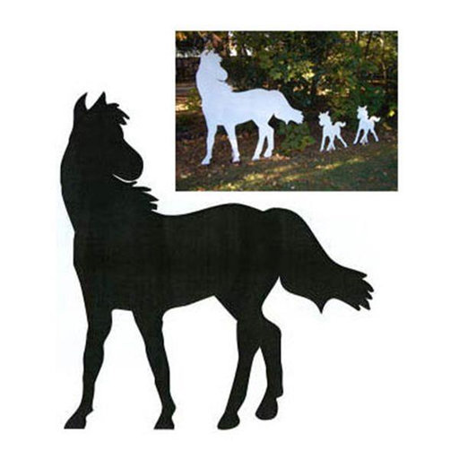 View a Larger Image of Woodworking Project Paper Plan to Build Large Horse Shadow
