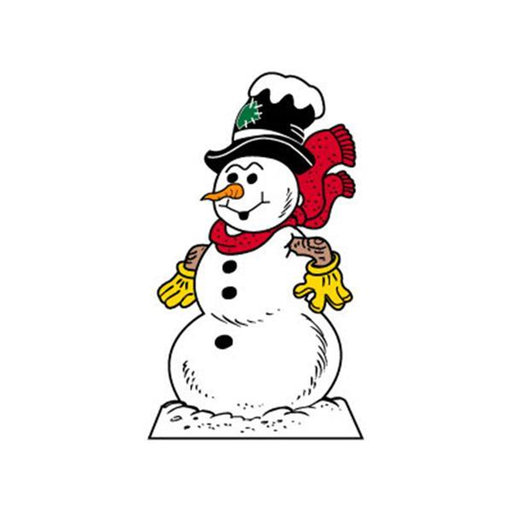 View a Larger Image of Woodworking Project Paper Plan to Build Large Snowman