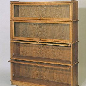 Woodworking Project Paper Plan to Build Lawyer's Bookcase, Plan No. 700