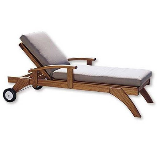 View a Larger Image of Woodworking Project Paper Plan to Build Lazy-Days Chaise Chair