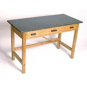 Woodworking Project Paper Plan to Build Library Table, AFD202