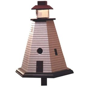 Woodworking Project Paper Plan to Build Lighthouse Birdhouse
