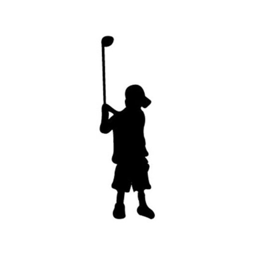 View a Larger Image of Woodworking Project Paper Plan to Build Little Golfer Shadow