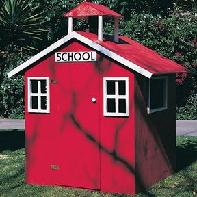 Woodworking Project Paper Plan to Build Little Red Schoolhouse, Plan No. 619