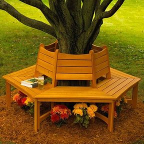 Woodworking Project Paper Plan to Build Made in the Shade Tree Bench