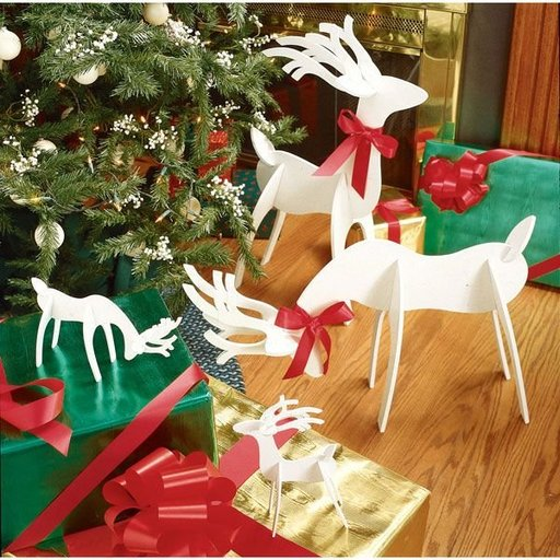 View a Larger Image of Woodworking Project Paper Plan to Build Medium & Tabletop Sized Reindeer