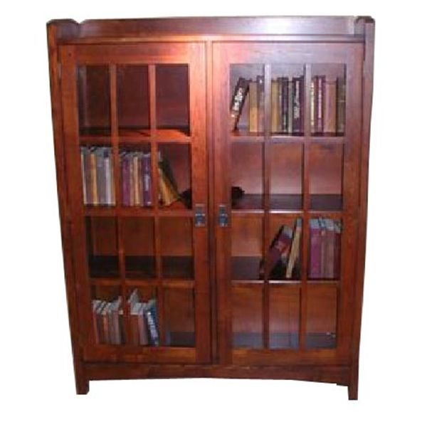 Build a mission style bookcase roselawnlutheran for Craftsman style bookcase plans