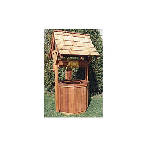 View a Larger Image of Woodworking Project Paper Plan to Build Mystic Wishing Well