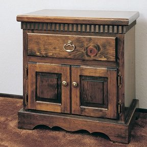 Woodworking Project Paper Plan to Build Night Stand & Headboard, Plan No. 692