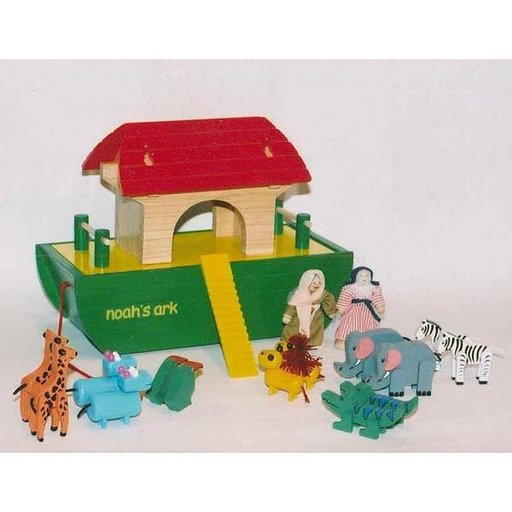 View a Larger Image of Woodworking Project Paper Plan to Build Noah's Ark Play Set, AFD330
