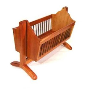 Woodworking Project Paper Plan to Build Noah's Cradle, AFD227