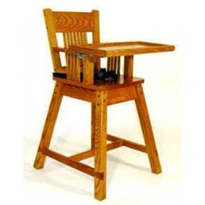 Woodworking Project Paper Plan to Build Noah's Highchair, AFD228