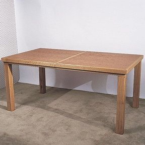 Woodworking Project Paper Plan to Build Oak Extension Table, Plan No. 764