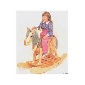 Woodworking Project Paper Plan to Build Old Gray Mare Rocker