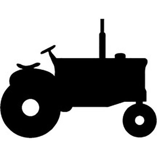 View a Larger Image of Woodworking Project Paper Plan to Build Old Time Tractor Shadow