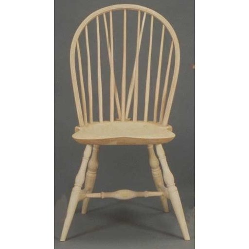 View a Larger Image of Woodworking Project Paper Plan to Build Oval Back Windsor Chair, AFD105