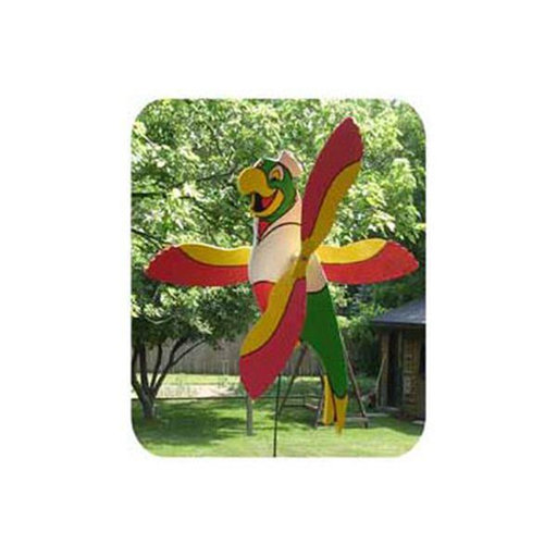 View a Larger Image of Woodworking Project Paper Plan to Build Parrot Whirligig