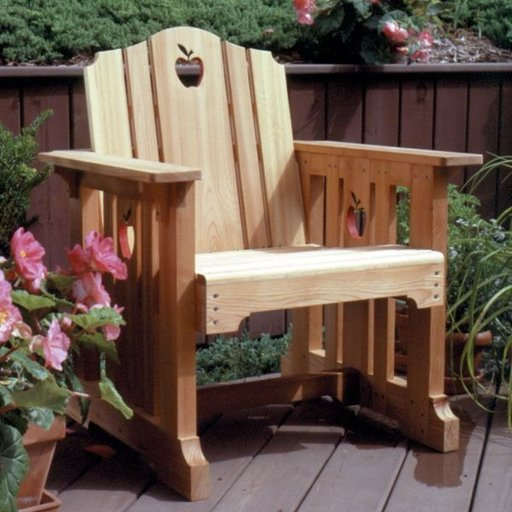 View a Larger Image of Woodworking Project Paper Plan to Build Patio Chair