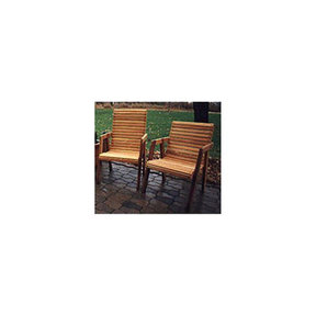 Woodworking Project Paper Plan to Build Patio Chairs