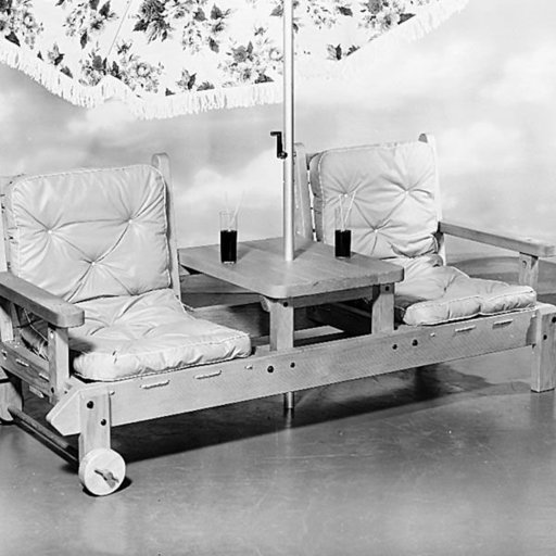 View a Larger Image of Woodworking Project Paper Plan to Build Patio Lounger, Plan No. 255