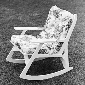 Woodworking Project Paper Plan to Build Patio Rocker, Plan No. 350