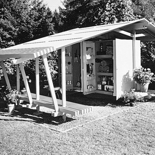 View a Larger Image of Woodworking Project Paper Plan to Build Pergola, Plan No. 382