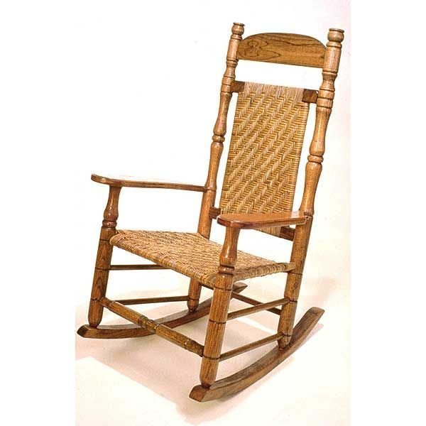 View A Larger Image Of Woodworking Project Paper Plan To Build Plantation Rocking Chair AFD133