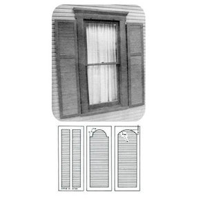 Woodworking Project Paper Plan to Build Plantation Shutter