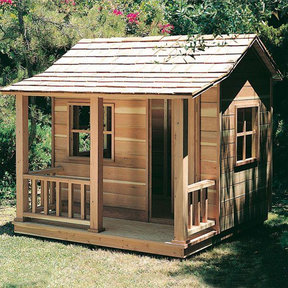 Woodworking Project Paper Plan to Build Playhouse