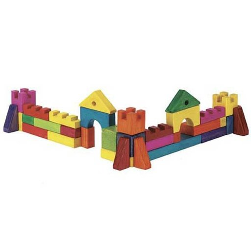 View a Larger Image of Woodworking Project Paper Plan to Build Playtime Building Blocks