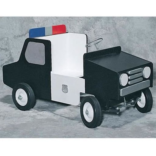 View a Larger Image of Woodworking Project Paper Plan to Build Police Pedal Car, Plan No. 895
